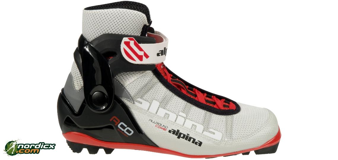 ALPINA ACO Combi Summer Rollerski Boots NNN - Alpina nordic boots