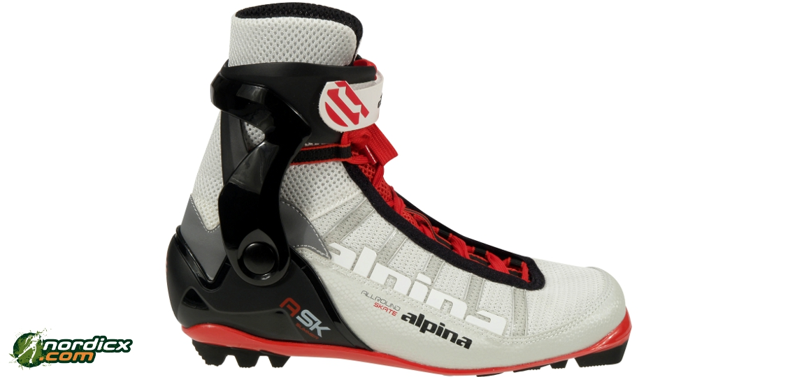 ALPINA ASK Summer Skate RollerSki Boots NNN - Alpina xc ski boots