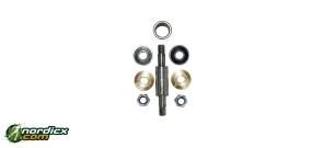 ELPEX rollerski axle set with reverse lock (40mm)