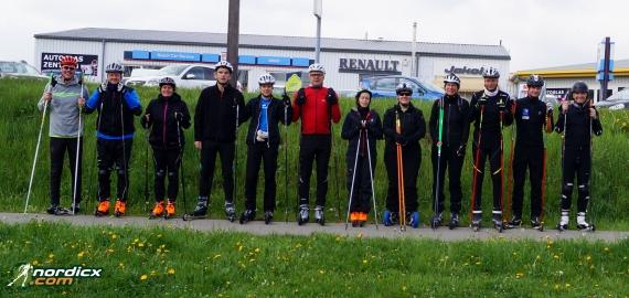 Skiroller- und Nordic Cross-Skating Kurswochenende 2019