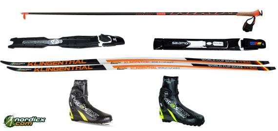 XC-Ski bundle KLINGENTHAL World Cup Skate