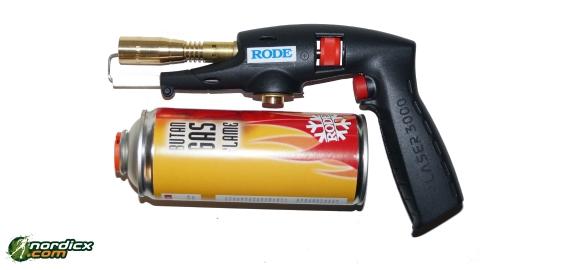 RODE Gas Burner for Klister