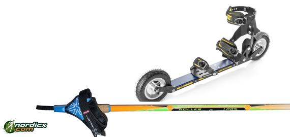 Bundle SRB XRS02/XRS03 and poles SkiGo Roller100