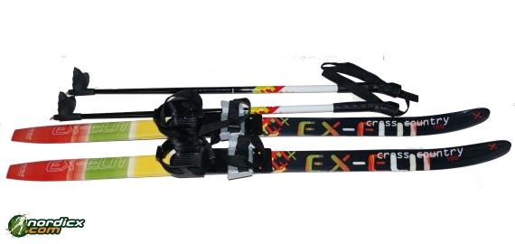 NORDICX Kinder-Skilanglaufset