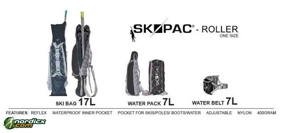 SKIPAC Multifunktions-Skirollertasche