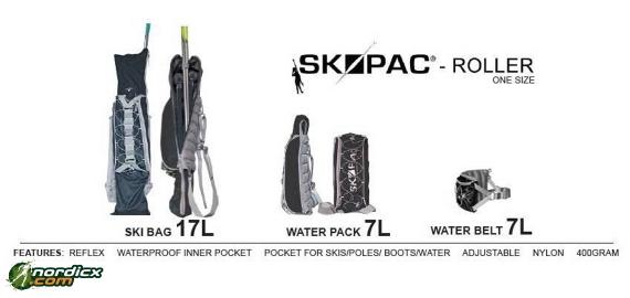 SKIPAC Rollerski Bag