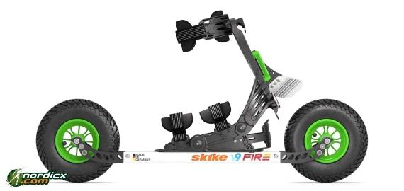 Testskate Skike V9 Fire 200