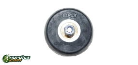 ELPEX Skirollerrad Klassik mit Rücklaufsperre (70x40mm)