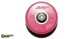 ELPEX Skirollerrad Klassik mit Rücklaufsperre PU (70x40mm)
