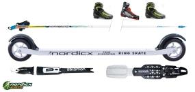 NORDICX Roller-Ski Bundle Skate Complete