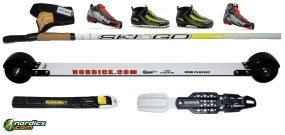 NORDICX Roller-Ski Bundle Classic Complete