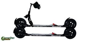 Skirollertest Powerslide X-Plorer mit Bremse und Salomon Bindung