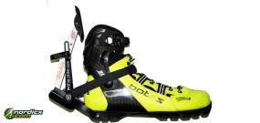 Set BOTAS Skiroller-/Rollski-Schuhe Skate Carbon SNS + Skike Wahia Skirollerbremse