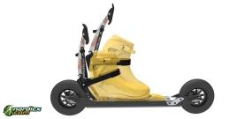Set BOTAS Skiroller-/Rollski-Schuhe Skate SNS + Skike Wahia Skirollerbremse