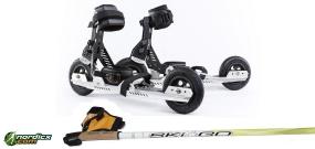 FLEET SKATES mit Stöcke SkiGo Roller50