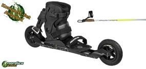 POWERSLIDE XC-Skeleton II Set mit Stöcke SkiGo Roller100