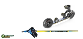 SRB XRS06 / XRS07 Bundle with poles SkiGo Roller50