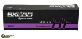SKIGO HF High Fluor Klister violett
