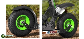 SKIKE V9 Fire 200mm Mud Flaps bundle