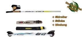 Rollerski Classic Bundle (incl. rollerskis, binding and poles)
