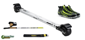 Skirollerset Klassik Einsteiger Komplett