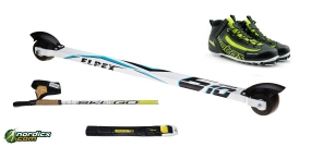 Rollerski Bundle Classic Advanced complete
