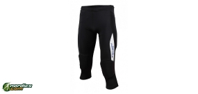 Rollerski pant stretch 3/4 incl. protection