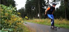 Rollski / Skiroller Kurse in Erfurt, Jena, Leipzig, Dresden, Chemnitz, Zwickau und Klingenthal
