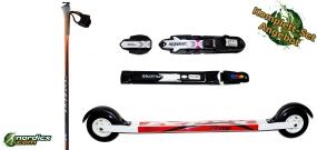 Skirollerset Elpex F1 Pro mit Bindung und Stöcke YOKO 6700