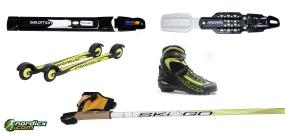 Roller Ski Bundle Marwe Advanced (rollerski, boot, bininding & poles)