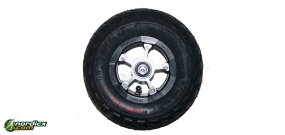 SRB XRS06-07 aluminum wheel 200mm incl locking device